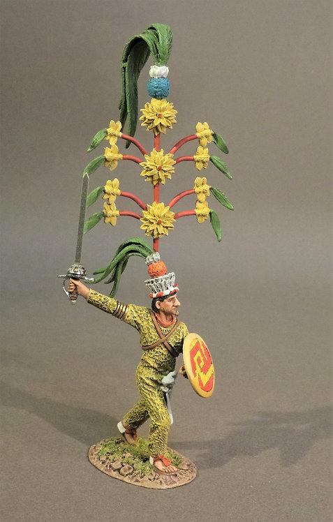 TX-03 - Tlaxcaltec Noble Warrior, the Tlaxcaltecs