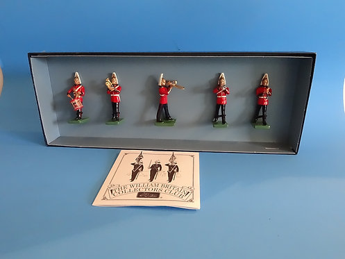 MI-601 - Band of the Life Guards Set #2 (5 figures) - Britains 00157 - 5
