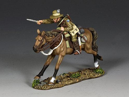 AL097 - Australian Light Horse Trooper Charging with Bayonet