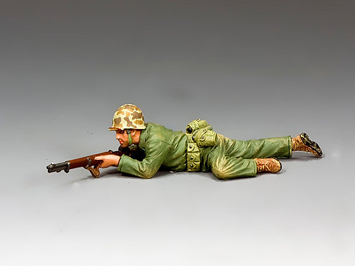 USMC031 - Marine Crawling Into Position