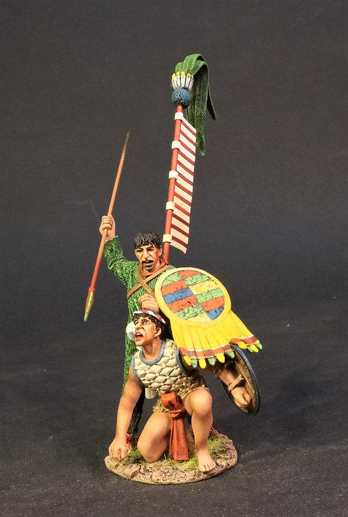 AZ-22 - Aztec Priest with Captive, Aztec Empire