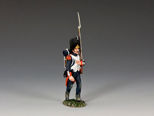 NA408 - Old Guard Marching' (with musket on the left shoulder)
