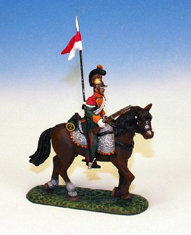 FLL.4. - Trooper Scouting Carbine on Hip, Walking Horse, Lancers of the Line