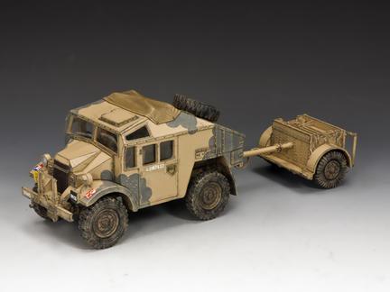 EA085 - Desert Quad Gun Tractor & Limber