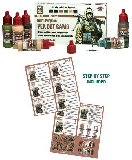 ACS-018 - Pea Dot Camo Paint Set