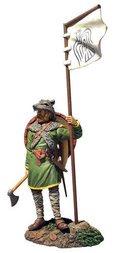 "62131 - ""Arnlaug"" Viking with Raven Banner"