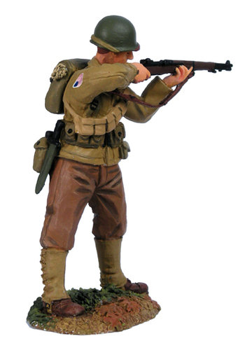 25009 - U.S. 101st Airborne, Glider Infatnry Regiment, Standing Firing No.1