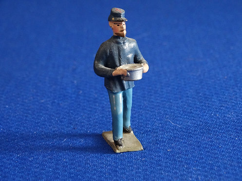 MN019 - Union Infanrty with Supplies- Minot - 54mm Metal - No Box