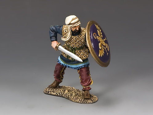 AG022 - Persian Warrior with Sword - KC