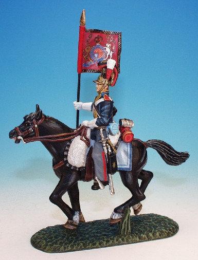 RHG.7. - Standard Bearer with Standard, Royal Horse Guards