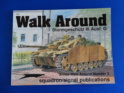 COJG-141 - Walk Around Sturmgeschutze III Ausf. G by Tom Cockle - Squadron