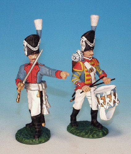 BIG.4 -Bavarian Army - Infantry, 3rd Regiment, Prince Charles, Grenadier Company