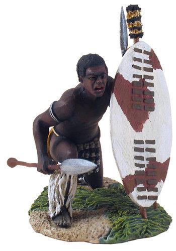 20066 - Zulu Warrior Croutched No.1