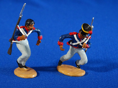 CORD-AL060 - Mexican Grenadiers Positioned for Carrying Ladder