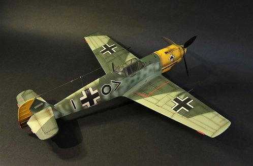 """ACE-205 - Messerschmitt Bf-109 E4, STAB/ JG53 """"Pik As"""", Olt. Freidrich Karl"""