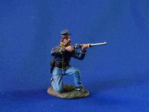 CORD-1138 - Union Dismounted Cavalry  - ACW - Britains - 54mm Metal - No Box
