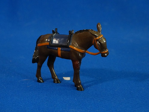 TY026 - Pack Mule/Donkey - Trophy - 54mm Metal - No Box