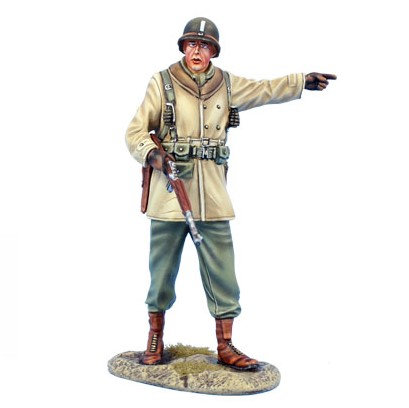 BB035  - US Winter Infantry Officer with M1A1 Carbine