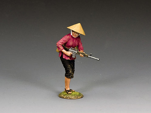 VN103 - Female Viet Cong with M16
