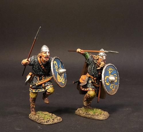 VIK-2324A - Viking Warriors Charging