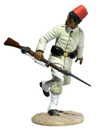 27071 - Egyptian Infantryman Running Looking Back