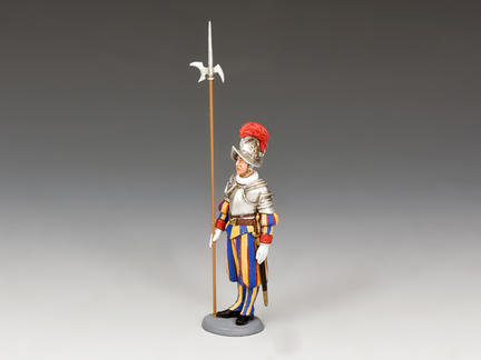 CE017 - Swiss Guardsman at Attention