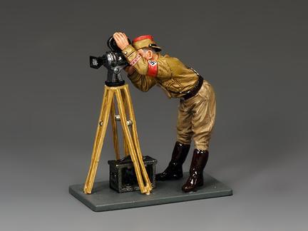 LAH229 - Standing Cameraman & Tripod