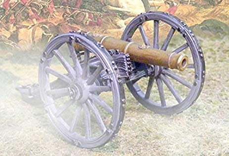 CS00505 - Artillery Cannon with Opening Ready Ammo Box