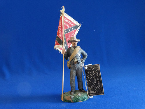 """NR-004 - Sergeant Fred Thomas, 11th Indiana """"Wallace's Zouaves"""", 1864 on Wooden"""