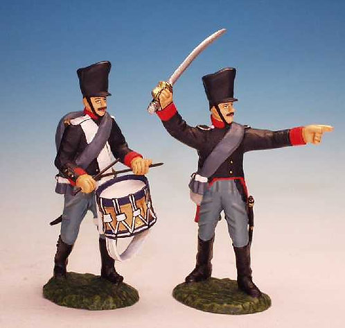 PNI.5. - Officer and Drummer - Prussian Army