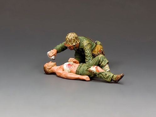 USMC044 - Navy Corpsman & Wounded Marine