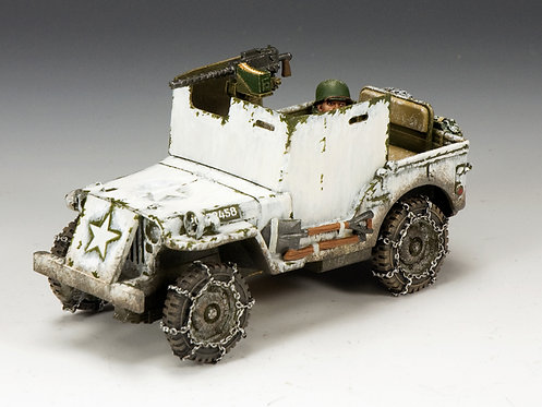BBA050 - US Armored Jeep (Winter Version)