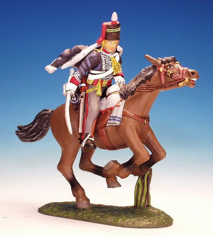 10H.3. - Trooper Following Through with Sword, 10th Hussars