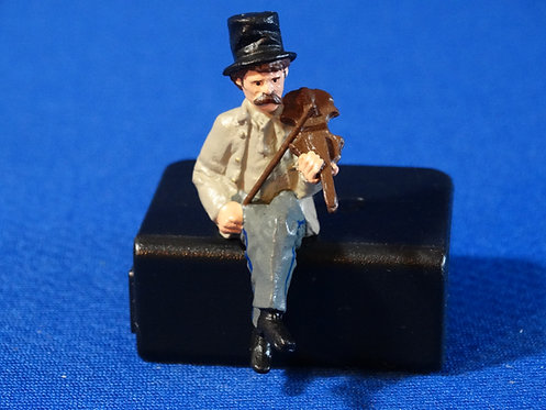 LM-1114C - Confederate American Civil War Fiddle Player (Seat Not Included)