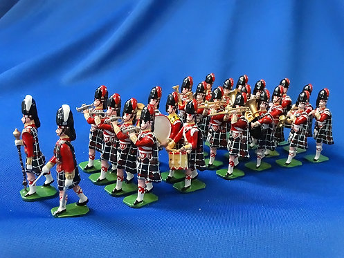 COMS-90 - Seaforth Highlanders 1905, Marching Band - 24 Figures