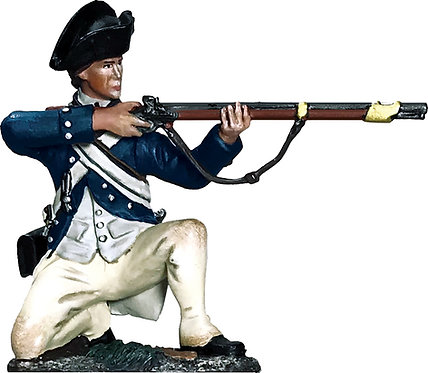 16080 - George Rogers Clark Illinois Regiment Kneeling Firing