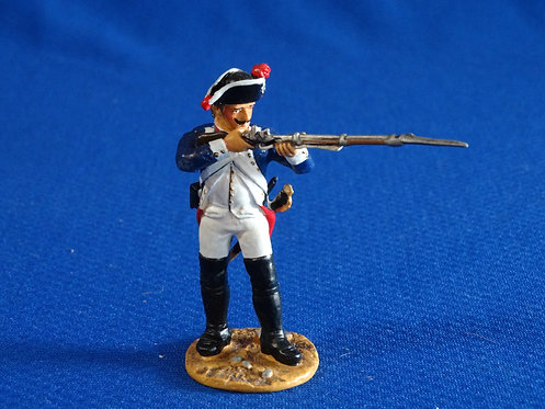 CORD-RA0368 - Prussian/Hessian Infantry Firing - AWI - Britains - 54mm Metal
