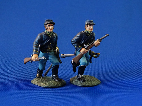 CORD-1154 - Union Dismounted Cavalry Advancing - 2 Figures  - ACW - Frontline