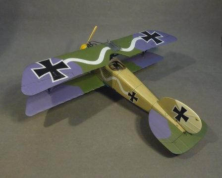 ACE-07N - Albatros DIII (O.A.W),  Jasta 10, Marcke, September 1917