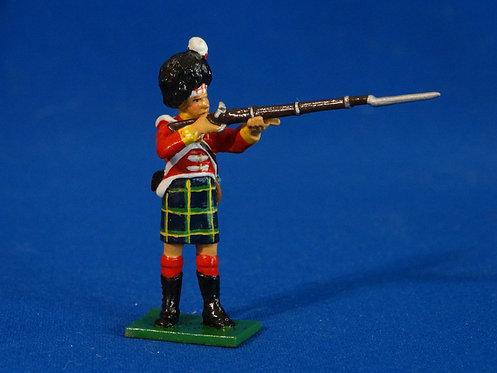TY020 - Gordon Highlander Standing Firing - Napoleonic - Trophy - 54mm Metal