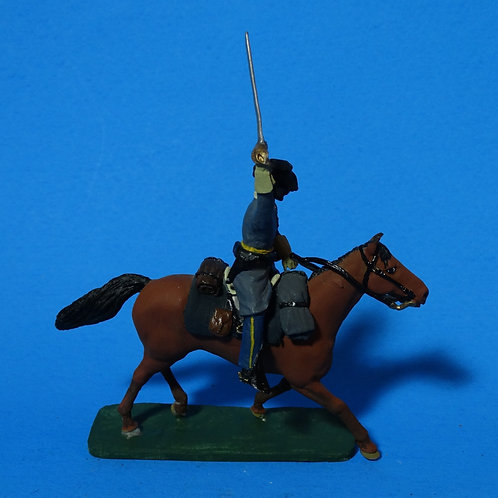 MI-566 - Mounted Confederate with Sword - ACW - Unknown Manufacturer - 60mm