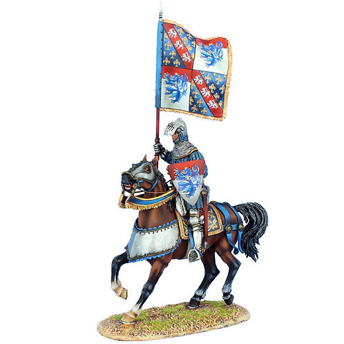 MED043 - French Standard Bearer - Louis de Vendome