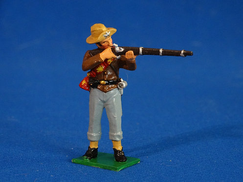 TY011 - Confederate Standing Firing - ACW - Trophy - 54mm Metal - No Box