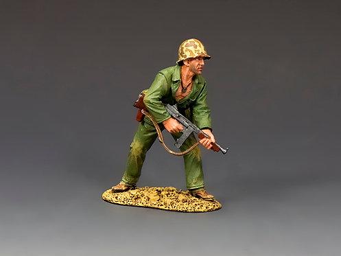 USMC042 - Marine with Tommy Gun