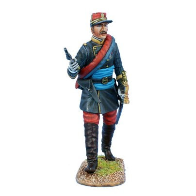 FPW002 - French Line Infantry Officer with Black Jacket 1870-1871