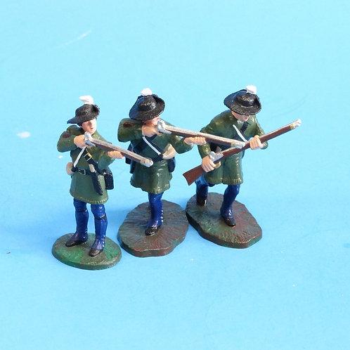 CORD-RA0072-3 Colonial Militia - LeMans - AWI - 54mm - Metal - No Box