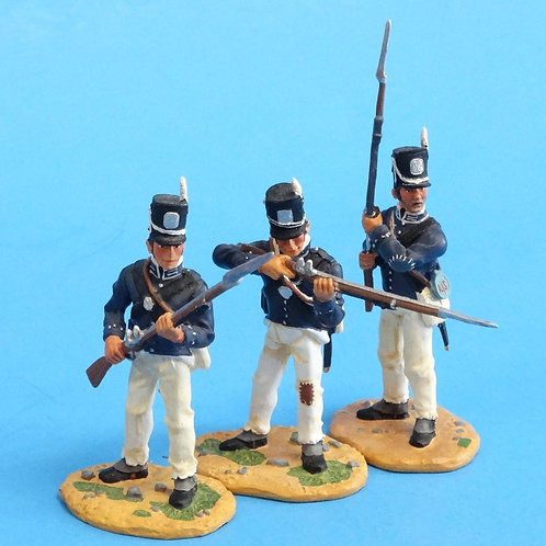 "CORD-A0176 - 7th US Regiment - ""The Cottonballers"" - 3 Figures - (Set 17478)"