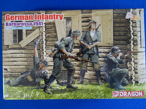 COJG-216 - German Infantry (Barbarossa 1941) - German WWII - Dragon 1/35