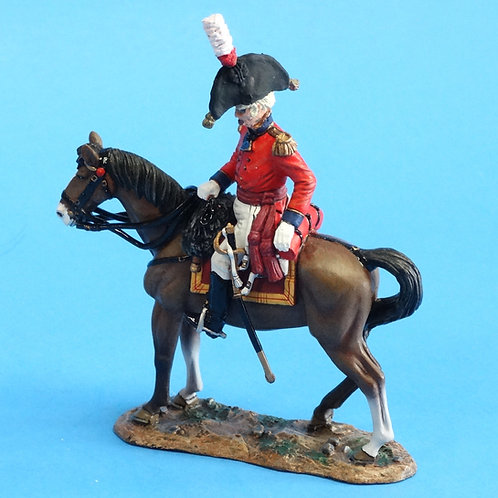 CORD-N1004 - British Officer - Napoleonics - Converted K&C - 54mm Metal - No Box