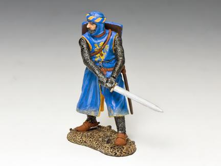 MK162 - Chevalier de Bleu with Sword